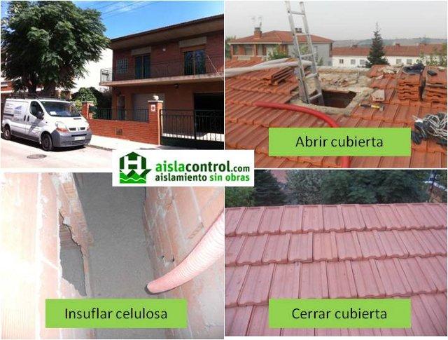 Aislacontrol aislamiento t rmico ac stico sin obras - Mejor aislante termico paredes ...